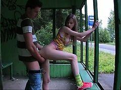 Наш первый секс на автобусной станции
