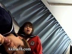 Японское трио в отеле домой