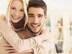 Секс супер симпатичной пары в день Святого Валентина